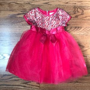 American Girl Red Holiday Dress